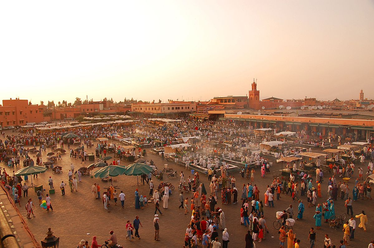 Marrakesh is known for its markets